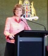 Julie Bishop  attended as Keynote Speaker