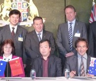 Leqing signed Friendship City MOU with Geraldton-Greenough