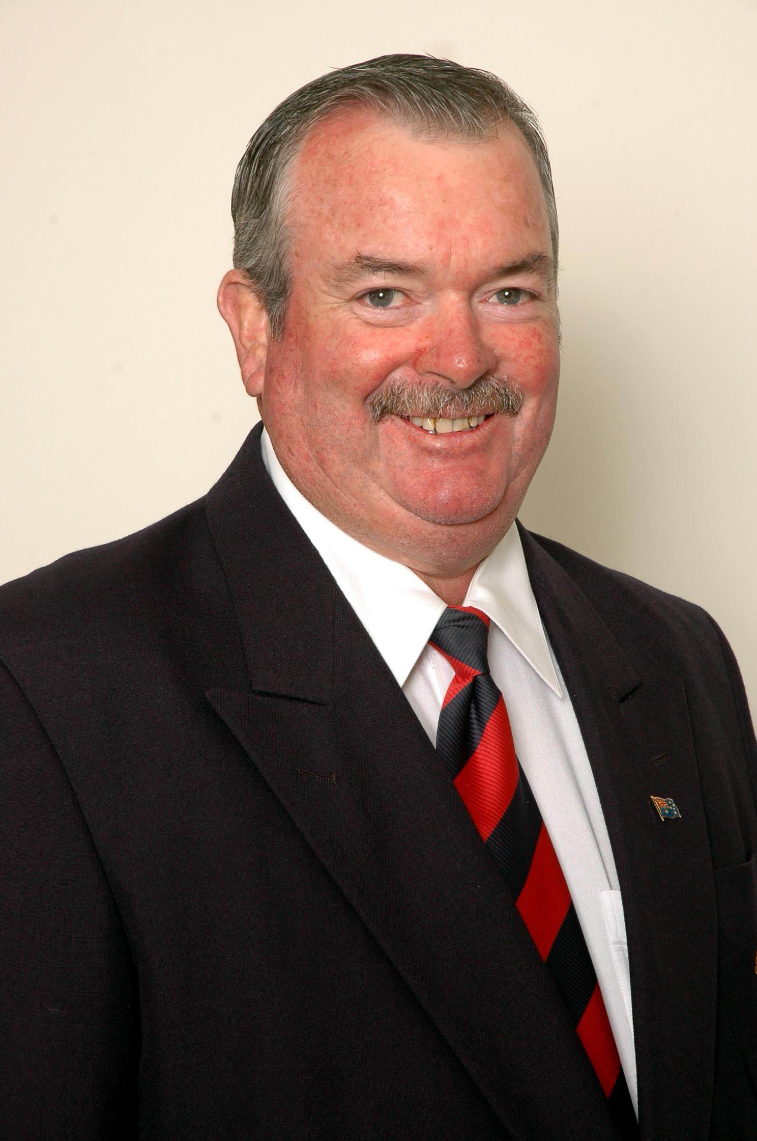 Cr Keith Rhoades - President NSW  Local Government Asso