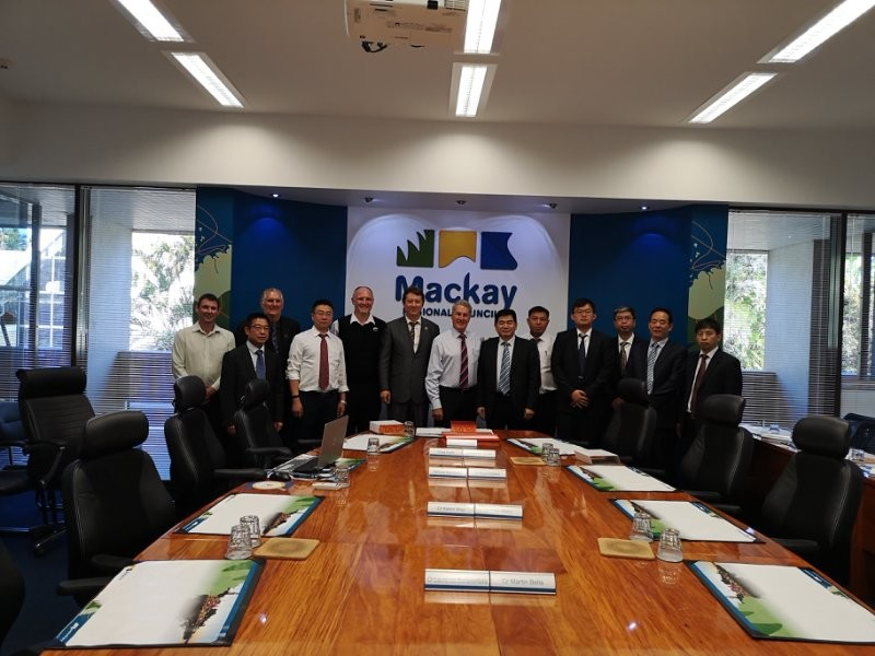 Mackay City Council Welcome the Mining Trade delegation